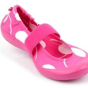 SALE! LUV Dream Flats Lunar Dot Pink Toddler Shoes